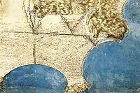 Bird-s eye view of sea coast, c.1515, vinci
