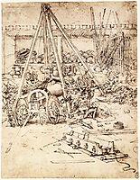 Cannon foundry, 1487, vinci