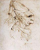Caricature, c.1500, vinci