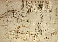 Design for a Flying Machine, 1488, vinci