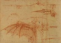 Design for a Flying Machine, c.1505, vinci