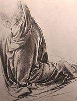 Drawing of drapery, c.1500, vinci