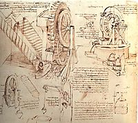Drawings of Water Lifting Devices, c.1481, vinci