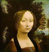 Ginevra de Benci, ~1476, vinci