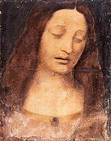 Head of Christ, vinci