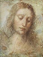 Head of Christ, 1494-1495, vinci