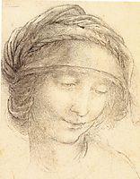 Head of Saint Anne, c.1510, vinci
