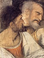 Heads of Judas and Peter, vinci
