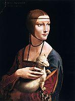 The Lady with the Ermine (Cecilia Gallerani), 1496, vinci