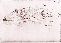 Landscape near Pisa, c.1502, vinci