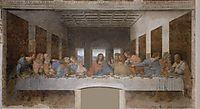 The Last Supper, 1495-1498, vinci