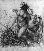 Leda and the Swan, c.1506, vinci