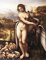 Leda and the Swan, 1505-1510, vinci