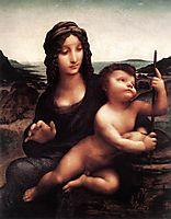 Madonna with the Yarnwinder, 1501, vinci
