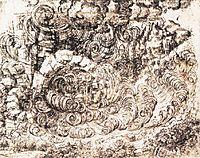 Natural disaster, c.1517, vinci