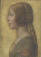 Profile of a Young Bride, 1480, vinci