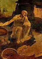 Saint Jerome, 1480, vinci