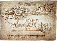 Scythed Chariot, c.1483, vinci