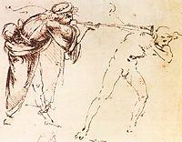 Study, 1478-1480, vinci
