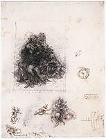 Study for the Burlington House Cartoon, 1503-1510, vinci