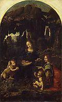 The Virgin of the Rocks, 1483-1486, vinci