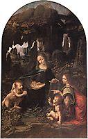 The Virgin of the Rocks, c.1485, vinci