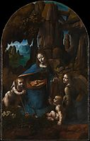The Virgin of the Rocks, c.1505, vinci