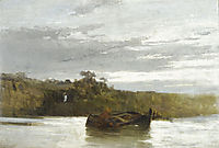 The river, c.1875, volanakis