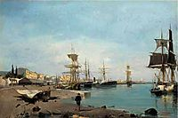 Admiring the ships, volanakis