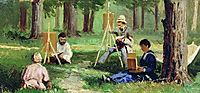 Artists in the Open Air, volkov