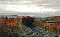 During Haying, volkov
