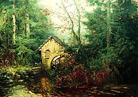 Forest Landscape with Watermill, volkov