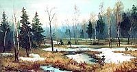 In Late winter, volkov