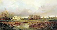 Marsh in Autumn, 1871, volkov