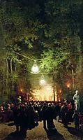 The party in the summer garden, volkov