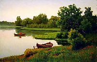 Summer Landscape with Fisherman, volkov