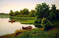 Summer Landscape with Fisherman, volkov
