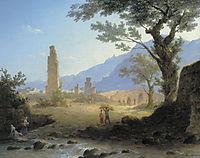 Italian Landscape, 1847, vorobiev