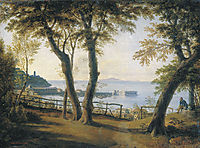 Italian Seaside Landscape, c.1840, vorobiev