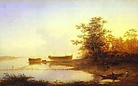 Sunrise. In the Suburbs of St. Petersburg, 1832, vorobiev