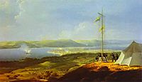 View of the Military Telegraph near Varna, 1829, vorobiev