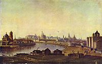 View of Moscow, c.1810, vorobiev
