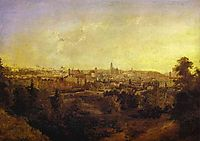 View of a Town (Grodno), 1833, vorobiev