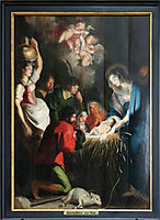 The Birth of Jesus, 1618, vos