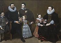 Family Portrait, 1631, vos