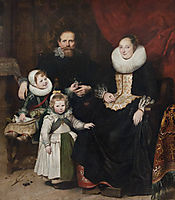 Portrait of the Artist with his Family, vos