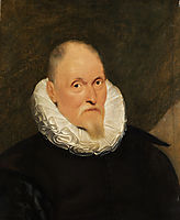 Portrait of a Dutch master, vos
