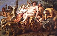 The Triumph of Bacchus, vos