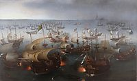 The Battle with the Spanish Armada, 1601, vroom
