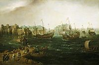 Ships Trading in the East, 1614, vroom